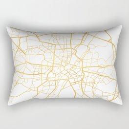 MUNICH GERMANY CITY STREET MAP ART Rectangular Pillow