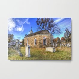 Old Dutch Church Of Sleepy Hollow Metal Print