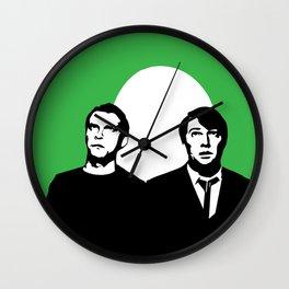 El Dude Brothers Wall Clock