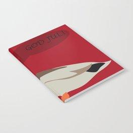 christmas duck Notebook