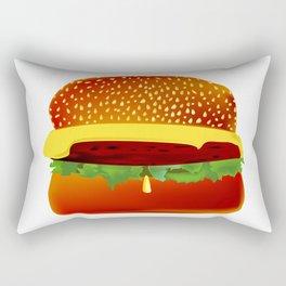 Burger Rectangular Pillow