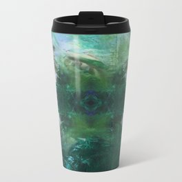loose yourself in the green wind Metal Travel Mug