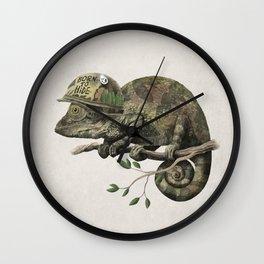 Born to Hide Wall Clock
