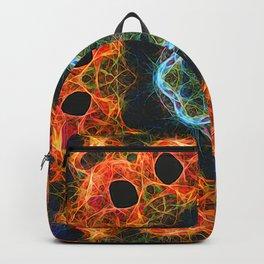 Fiery barnacle kaleidoscope Backpack