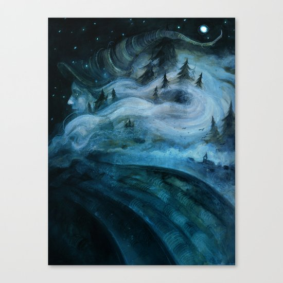 Witch of the Hills Canvas Print