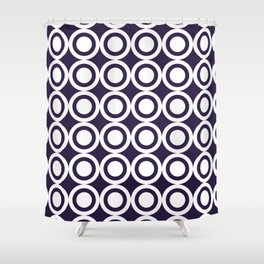 HARLON CIRCLES BY SUBGRL Shower Curtain