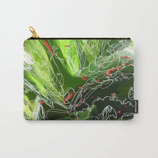 green explosion Carry-All Pouch