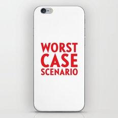 Worst Case Scenario iPhone Skin