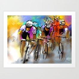 Le Tour De France 03 Art Print