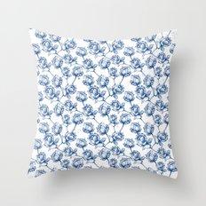 Lotus Pattern Throw Pillow