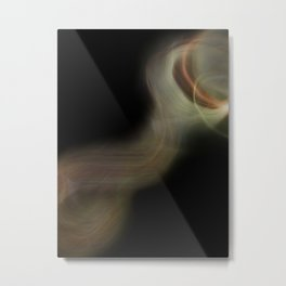 Smoke Monster Metal Print