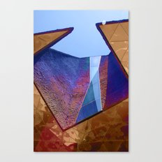 Angles in Barcelona Canvas Print