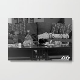 Departed Metal Print