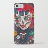 mexican iPhone & iPod Cases featuring Mexican SK by LucreziaU's Illustration
