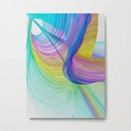 Flowing Like A Gentle Breeze Metal Print