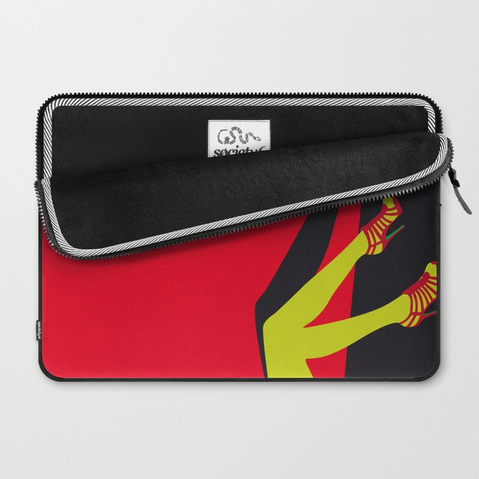 You sold your soul to the devil when you put on your first pair of Jimmy Choo's, I saw it. Laptop Sleeve