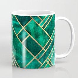 Emerald Blocks Coffee Mug