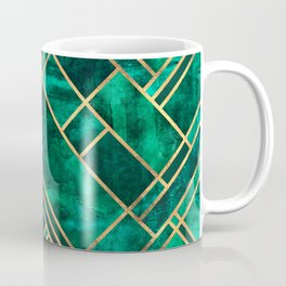 Emerald Blocks Coffee Mug