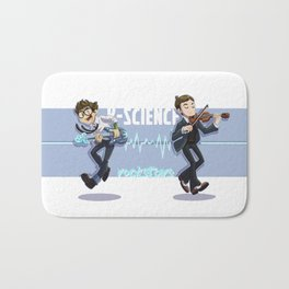 k-science rockstars Bath Mat