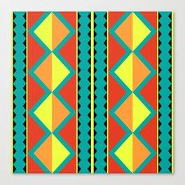 Pizzazz: 9 of 9 Canvas Print