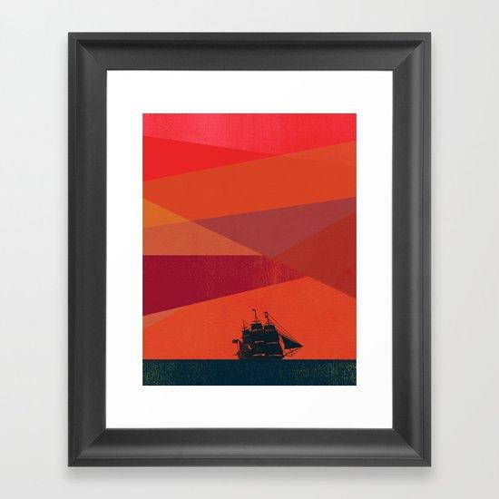 Dawn Voyage Framed Art Print