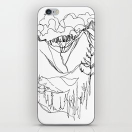 Echo Falls iPhone Skin