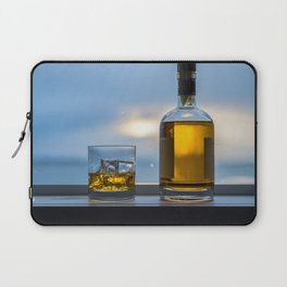 Evening Cocktail on Ice Laptop Sleeve