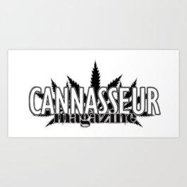 Cannasseur Magazine Art Print