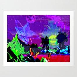 Conquered Art Print