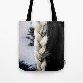 Equine Braid Tote Bag