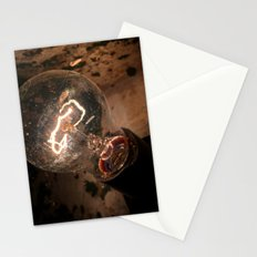 The lightbulb Stationery Cards