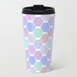 hexagon (5) Travel Mug