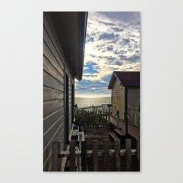 hostel not hostile Canvas Print