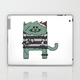 Zombie cat Laptop & iPad Skin