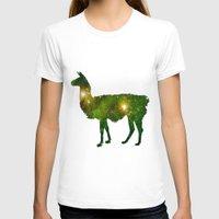 llama T-shirts featuring Llama by Lucas de Souza