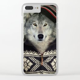 Timothy Howler Clear iPhone Case