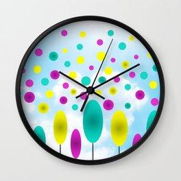 Воздушные шары Wall Clock