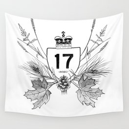 Highway 17 Wall Tapestry