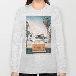 Surf Van Venice Beach California Long Sleeve T-shirt