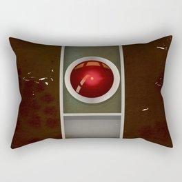 HAL 9000 Vintage magazine advertisement Rectangular Pillow