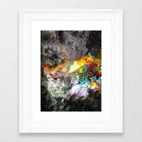 leopard Framed Art Prints featuring LEOPARD by sametsevincer
