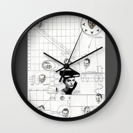 Looking for Mister Right Wall Clock