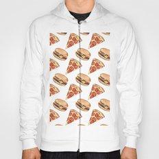 Pizza love Burger Hoody