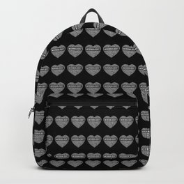 Microbiologist - Heart Backpack