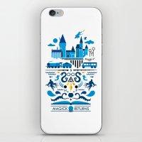 returns iPhone & iPod Skins featuring Magick Returns by Aphichat Treetaruyanon