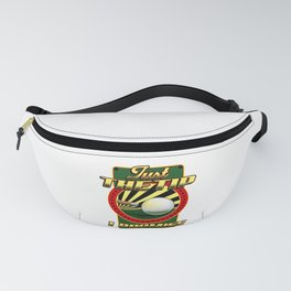 Funny Just The Tip I Promise Billiards Pool Cue Fanny Pack