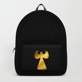 golden angel, fantasy Backpack