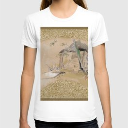 Shibata Zeshin - House With Woman And Baby - Digital Remastered Edition T-shirt