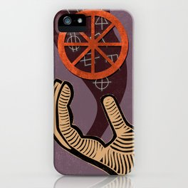 The Chariot Tarot card iPhone Case