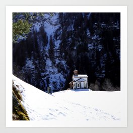 Little Pilgrimage Art Print